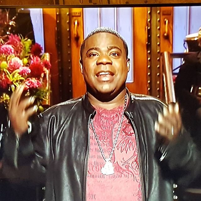 Welcome back! Get'm all pregnant! #snl @RealTracyMorgan @snlnbc