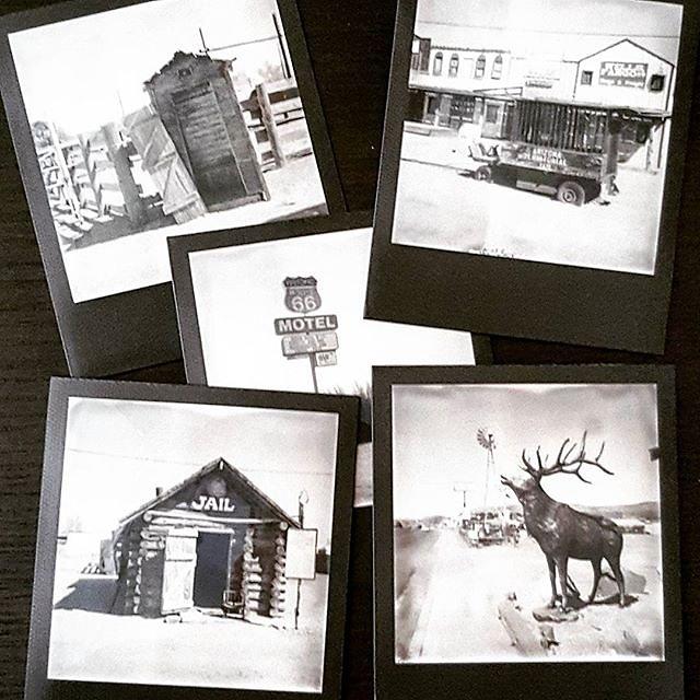 #Polaroid #instantfilm #impossibleproject #photo #blackandwhite #route66 #roadkillcafe