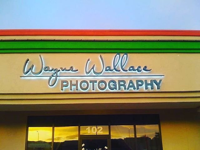 Here's the sign from my old studio I had 9 years ago. Time flies when you're having fun. Back when I thought you needed a studio, silly me. Good times in that studio though! #waynewallacephotography